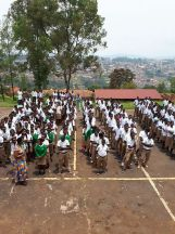 300 technical students in Rwanda came to listen JL's speech
