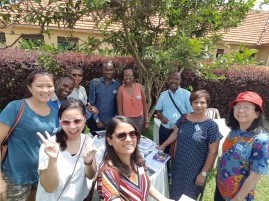 Burundi, Singapore team and the USA at the Global Learning Festival 2017